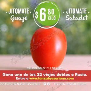 Mega Soriana: Frutas y Verduras Martes y Miércoles del Campo 1 y 2 de Mayo 2018