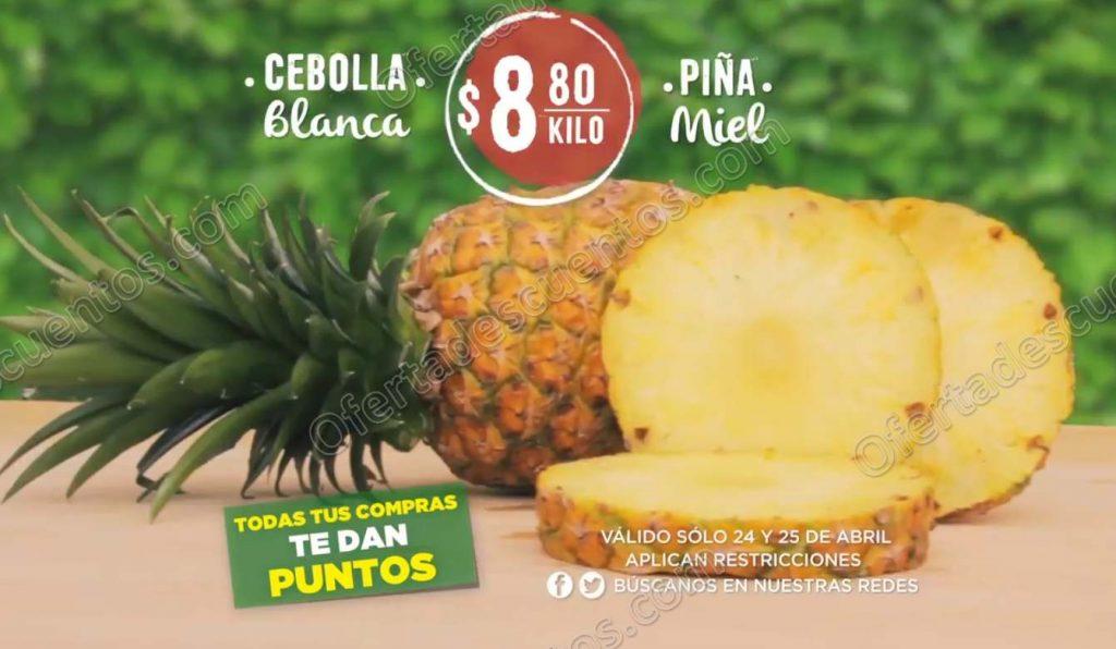 Mega Soriana: Frutas y Verduras 15 y 16 de mayo