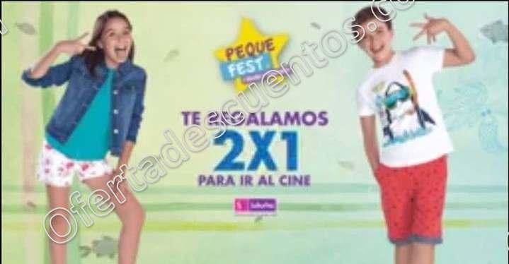 Peque Fest Suburbia: Boleto de cine al 2×1 gratis al comprar $600 o más en infantiles
