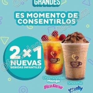 Promoción Mes del Niño en El Globo: 2×1 en nuevas bebidas infantiles