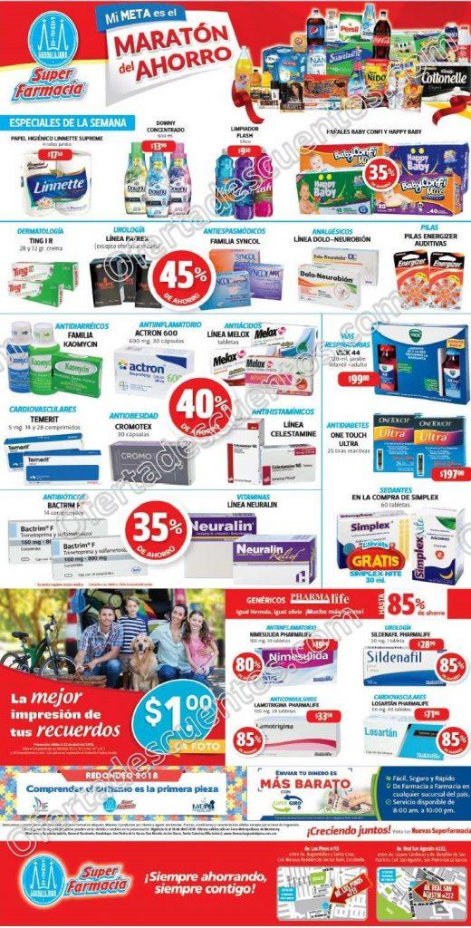 Farmacias Guadalajara: Impresión de Fotos a $1 y más del 16 al 18 de Abril 2018