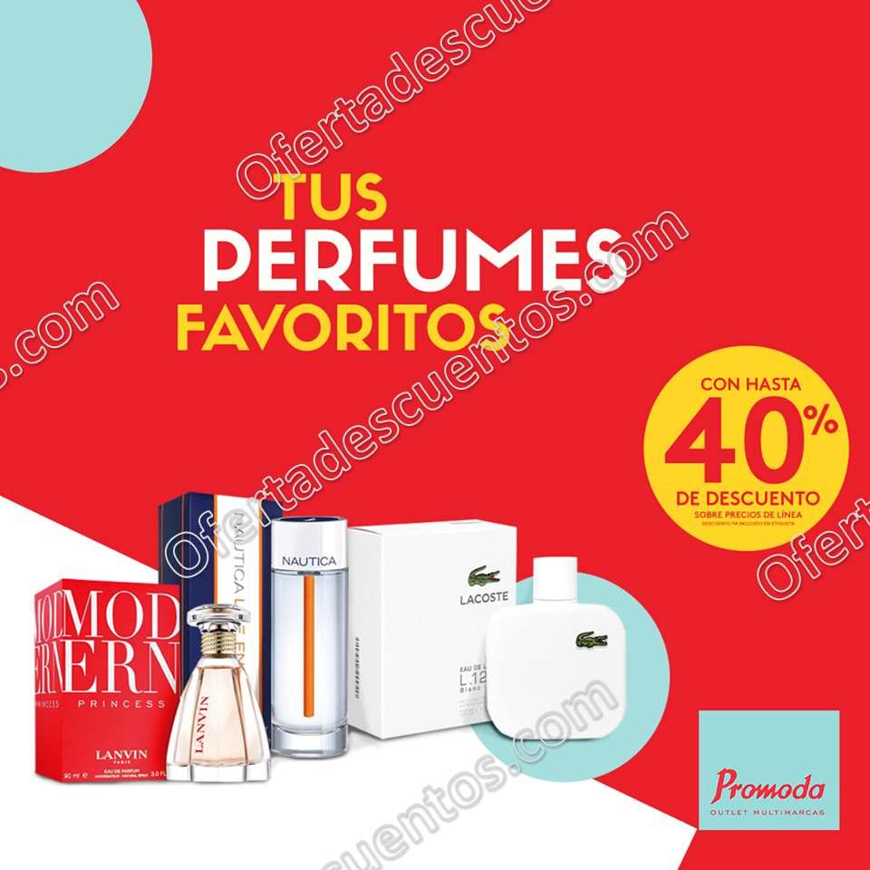 Promoda Outlet: Hasta 40% de descuento en perfumes y más promociones