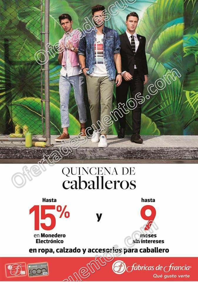 Quincena de Caballeros Fábricas de Francia: Hasta 15% de bonificación en ropa, calzado y más