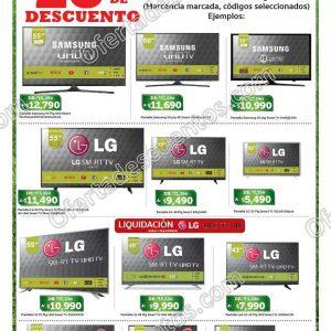 Soriana: Ofertas en Pantallas Samsung, LG y Vios del 13 al 16 de Abril