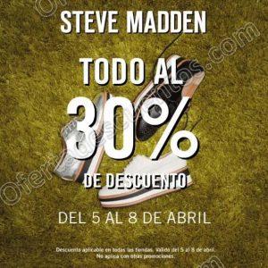 Steve Madden: Todo con 30% de Descuento
