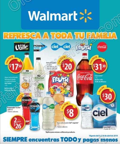 Walmart: Folleto de Ofertas del 5 al 18 de Abril 2018