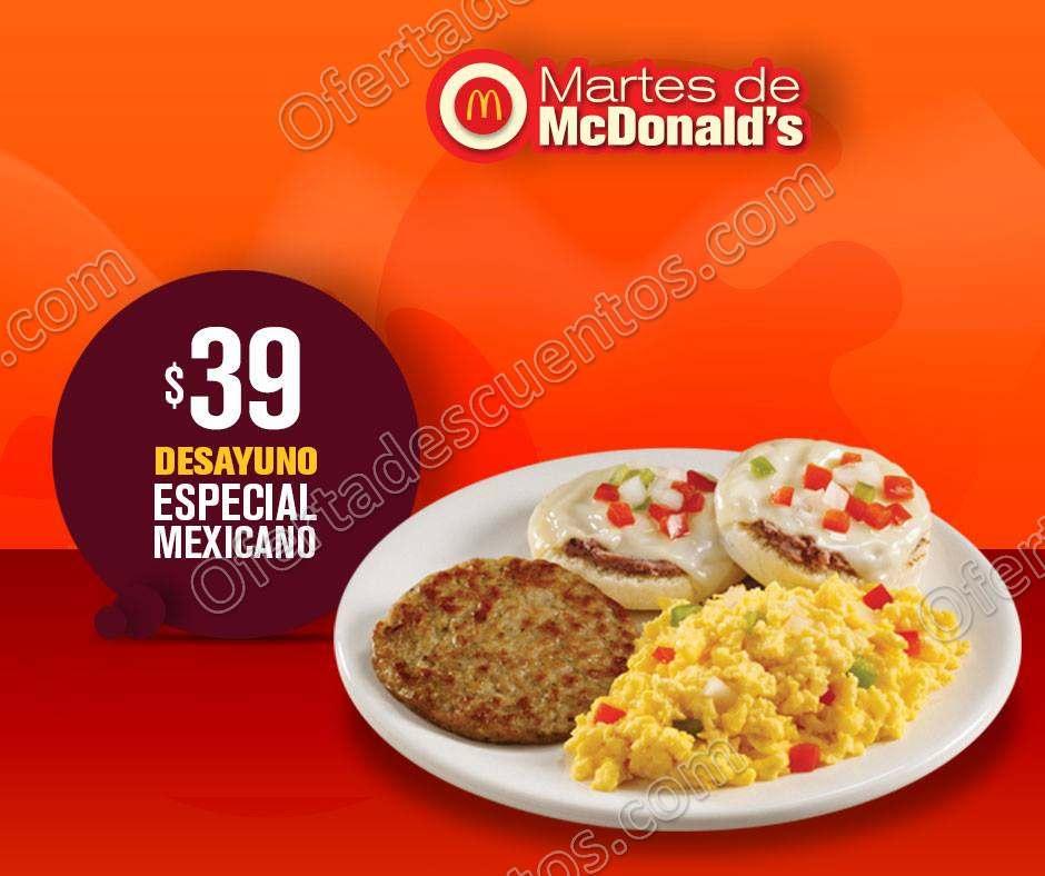 Martes de McDonald's 7 de Agosto 2018