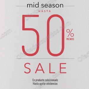 LOB: Ofertas Mitad de Temporada Hasta 50% de Descuento