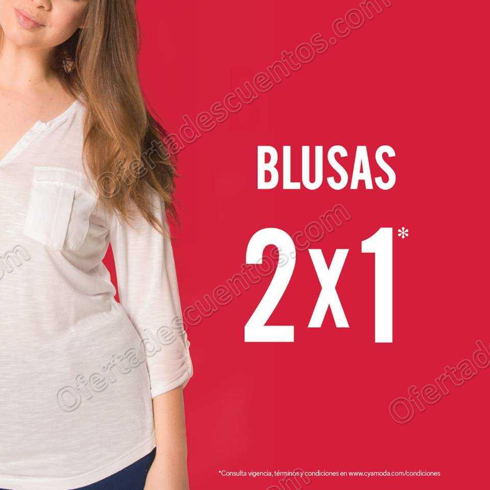 C&A: 2×1 en blusas solo el fin de semana