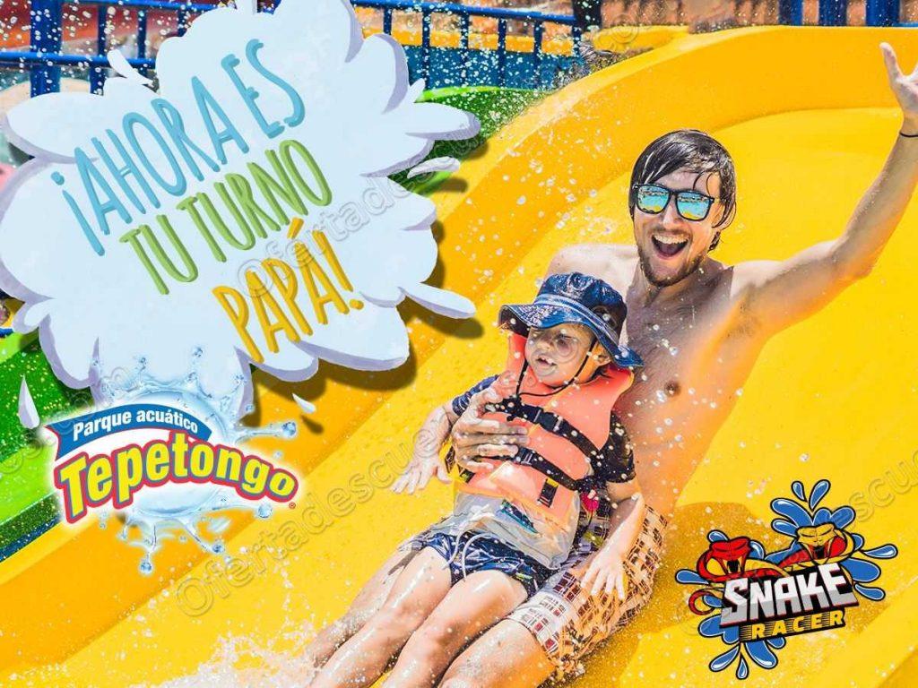 Parque Acuático Tepetongo: Entrada Gratis a todos los Papás del 15 al 17 de Junio