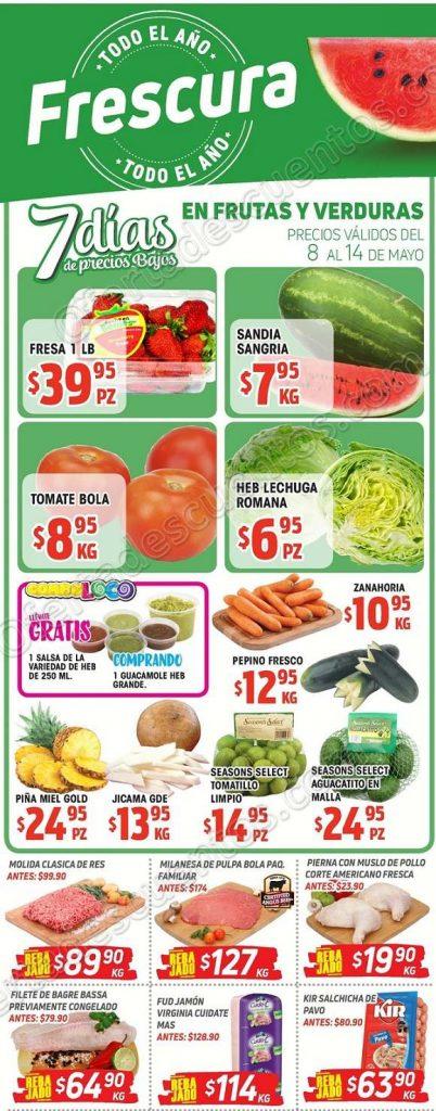 HEB: 7 días de ofertas en frutas y verduras del 8 al 14 de mayo 2018