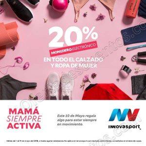 Innovasport: 20% en monedero electrónico en todo el calzado y ropa para mujer