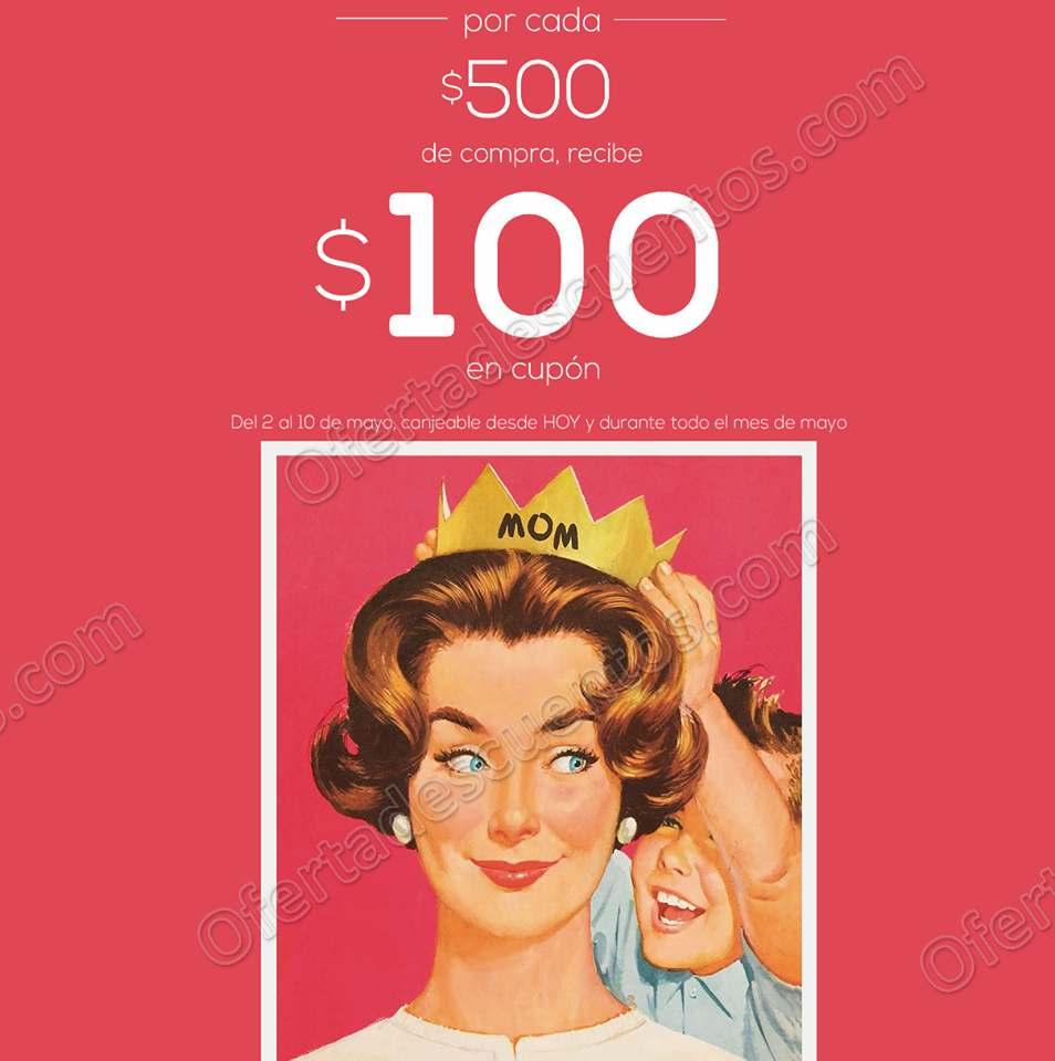 LOB: Recibe cupón de $100 de descuento por cada $500 de compra