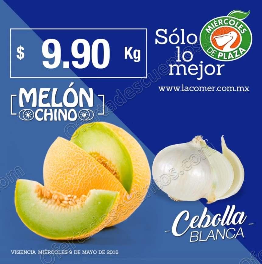 La Comer: Frutas y Verduras Miércoles de Plaza 9 de Mayo 2018