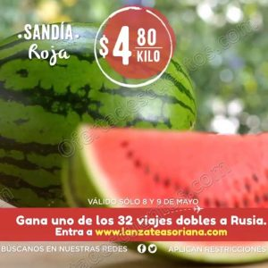 Mega Soriana: Frutas y Verduras Martes y Miércoles del Campo 22 y 23 de Mayo 2018