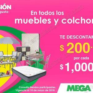 Mega Soriana: $200 de descuento por cada $1,000 de compra en colchones y muebles