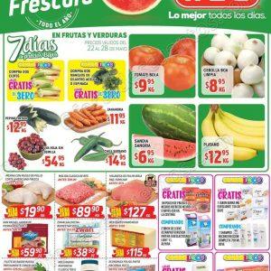 Ofertas Frutas y Verduras HEB del 22 al 28 de Mayo 2018