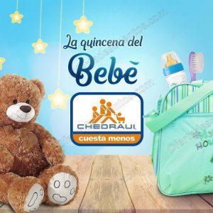 Ofertas Quincena del Bebé Chedraui del 11 al 25 de Mayo 2018