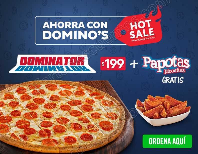 Promoción Hot Sale 2018 Domino's