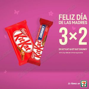 Promoción Día de las Madres 7Eleven: 3×2 en Chocolates del 7 al 9 de mayo y más