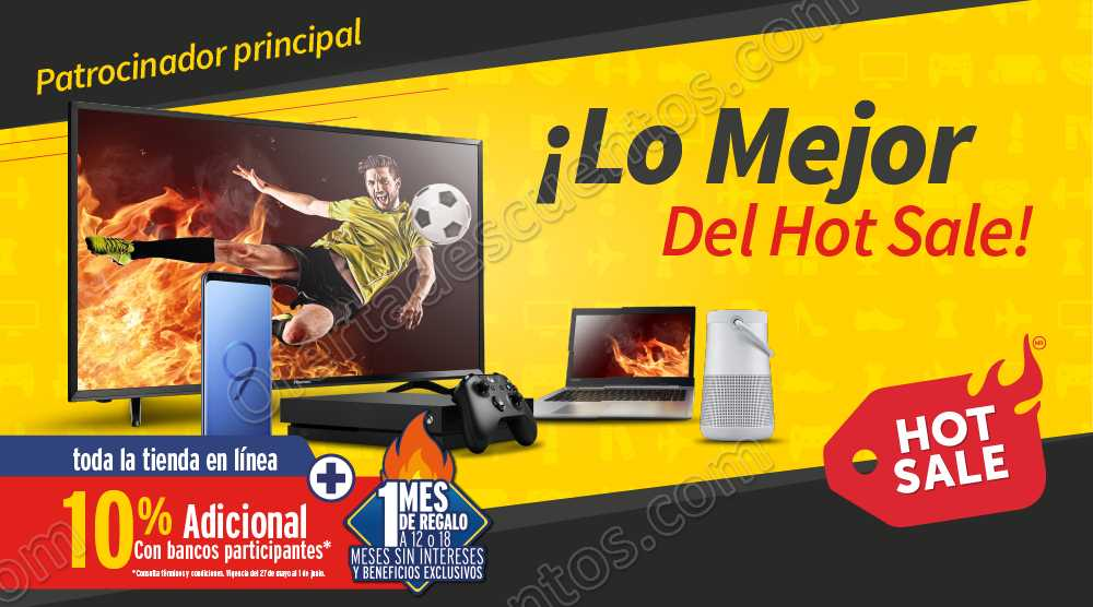 Promociones Hot Sale 2018 Elektra
