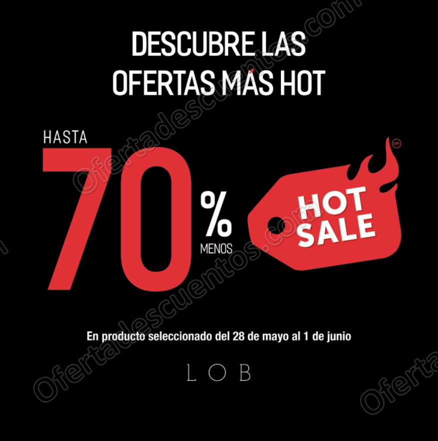 Promociones Hot Sale 2018 LOB