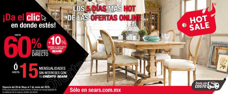 Ofertas Hot Sale 2018 Sears