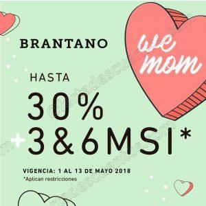 Promociones para el día de las Madres en Brantano, AX México, Guess y Dorothy Gaynor