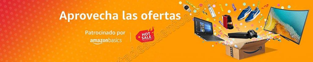 Promociones Amazon México Hot Sale 2018
