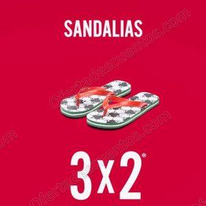 C&A: Sandalias Flip Flop al 3×2