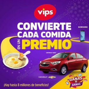 Promoción Ganas o Ganas en Vips: Sorteos Semanales Gana autos Chevrolet Aveo 2018 y más