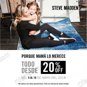 Steve Madden: Promoción día de las Madres 20% de descuento en calzado