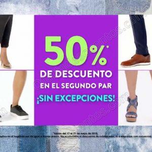 Suburbia: 50% de descuento en segundo par de zapatos y tenis