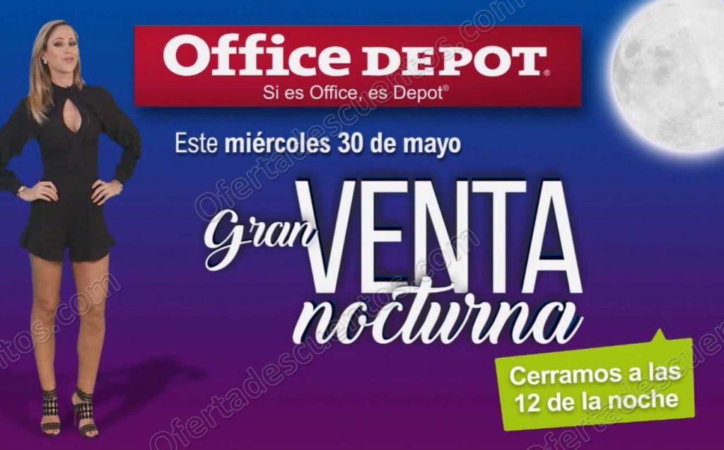 Venta Nocturna Office Depot 30 de Mayo 2018