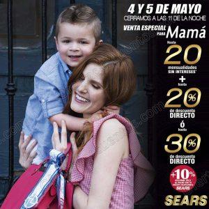 Venta Nocturna Sears para Mamá 4 y 5  de Mayo 2018