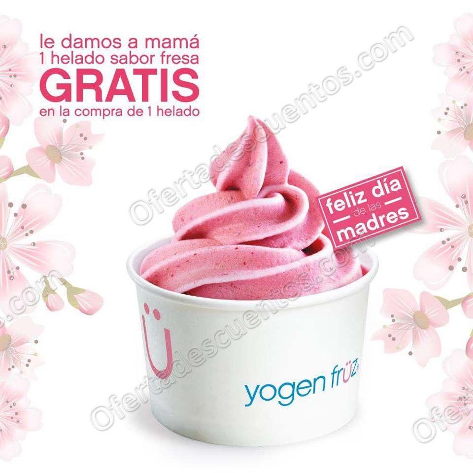 Yogen Früz: Compra de un helado y llévate Gratis otro sabor fresa
