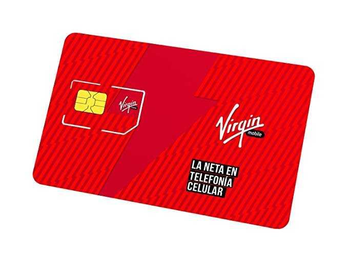 Amazon: Chip Virgin Mobile – 3GB y minutos ilimitados por mes