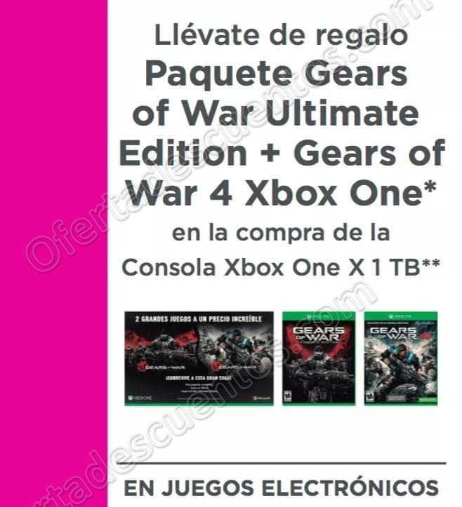 Liverpool: Paquete Gears of War Ultimate Edition + Gear of War 4 al Comprar Xbox One X 1 TB