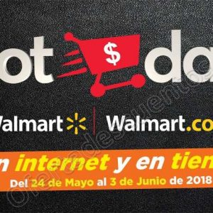 Promociones Hot Days Walmart 2018