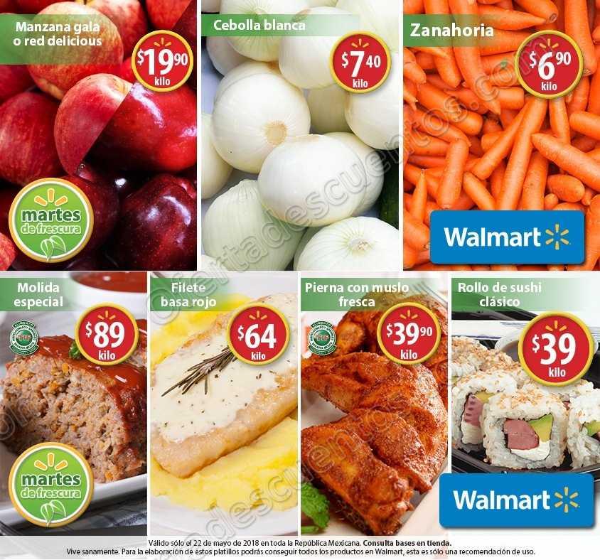 Martes de Frescura Walmart 22 de Mayo