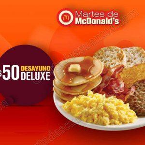 Cupones Martes de McDonald's 22 de Mayo 2018