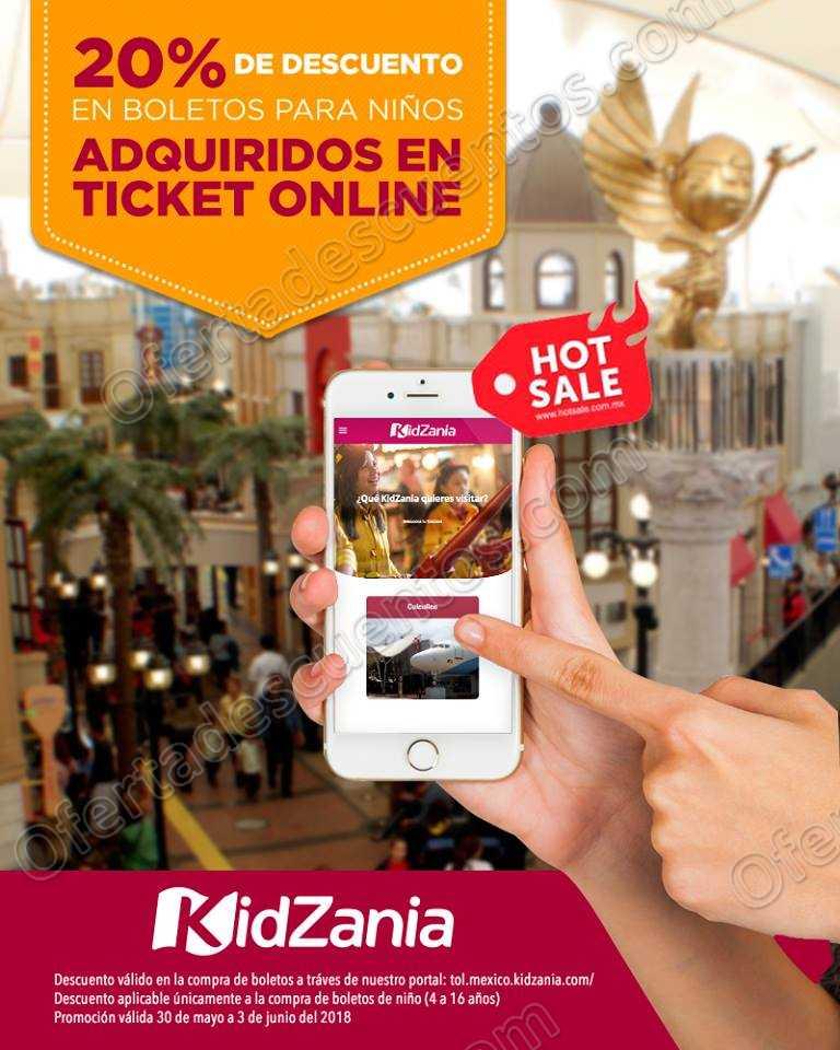 Promociones Hot Sale 2018 KidZania