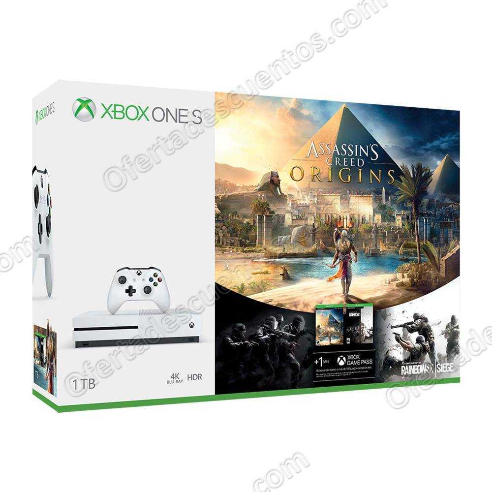 Sam's Club: Xbox One S 1 TB + 2 Juegos