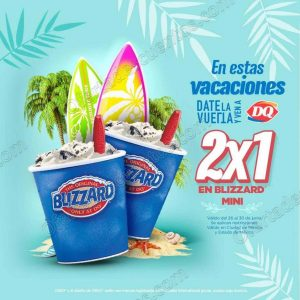 Dairy Queen: Blizzard Mini al 2×1