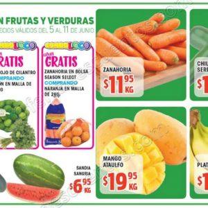 HEB: 7 Días de precios bajos en frutas y verduras del 5 al 11 de Junio 2018