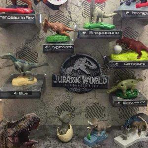 Nueva Cajita Feliz McDonald's: Dinosaurios de la Película Jurassic World