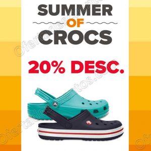 Crocs: 20% de descuento en modelos classic y crocband