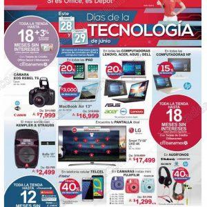 Office Depot: Días de la Tecnología 28 y 29 de Junio 2018