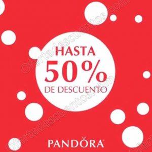 Pandora: Hasta 50% de descuento en artículos seleccionados