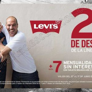Suburbia: 20% de descuento en toda la línea Levi's Men